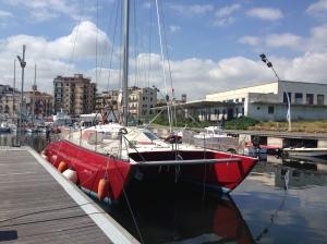 Red Catamaran