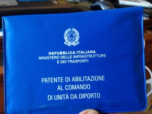 Patente Nautica/Nautical Boat Licence